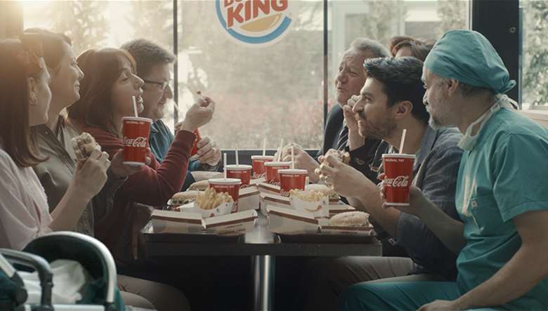 Burger King + Coca - Hospital