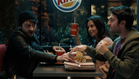 Burger King + Coca - Thief